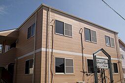 福岡県飯塚市口原の賃貸アパートの外観