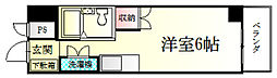 キャッスル熊谷[203号室]の間取り