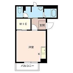 ドミール久松[2階]の間取り