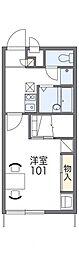 レオパレスYT5[2階]の間取り
