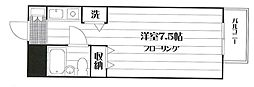 アクシルコート桜台[505号室]の間取り