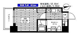 ステージファースト板橋桜川[2階]の間取り