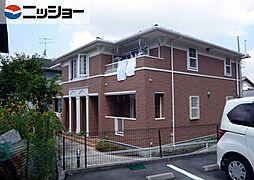 愛知県東海市名和町堂ノ前の賃貸アパートの外観