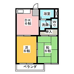 タウニーITO[1階]の間取り