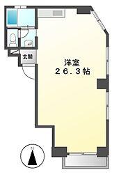 プラザフェニックス葵[7階]の間取り