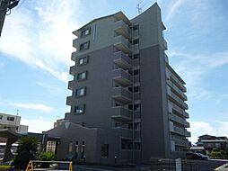 滋賀県東近江市東沖野1丁目の賃貸マンションの外観