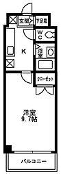 ガーデンコート桜井[2階]の間取り