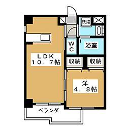 Do Dream寺町[3階]の間取り