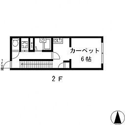 BELL728(ベルナナニイハチ)[205号室号室]の間取り
