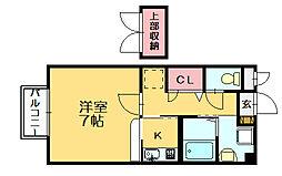 シャンボール[1階]の間取り
