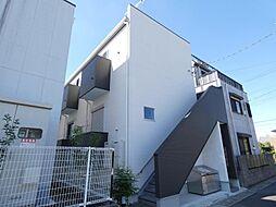 ブレッツァ北松戸[201号室]の外観