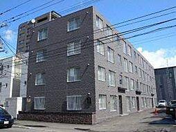 北海道札幌市中央区南六条西22丁目の賃貸マンションの外観