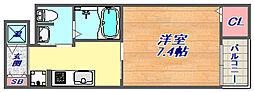 ボニート魚崎[3階]の間取り