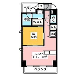 IZ Residence[3階]の間取り