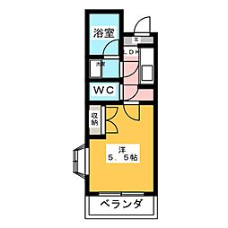 NITTO21壱番館[2階]の間取り