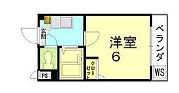 ジョイフル長澤[102号室]の間取り