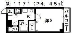 モンブラン[7階]の間取り