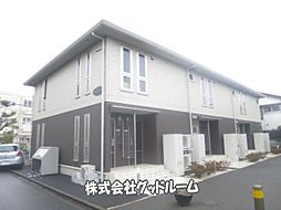 神奈川県相模原市南区相南1丁目の賃貸アパートの外観