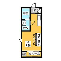 III番館[2階]の間取り