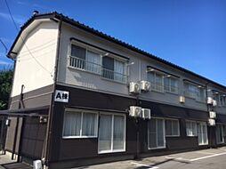 新潟県新潟市西区五十嵐一の町の賃貸アパートの外観