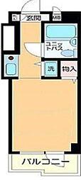 東京都葛飾区金町2丁目の賃貸マンションの間取り