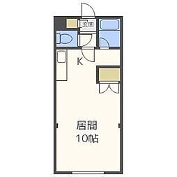ビッグバーンズマンション菊水[3階]の間取り