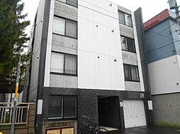 北海道札幌市豊平区平岸四条4丁目の賃貸マンションの外観