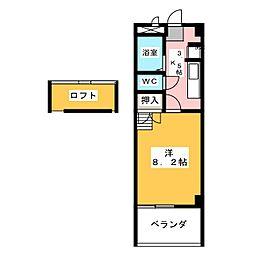 パークアベニュー[3階]の間取り