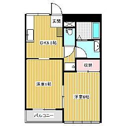 レジオンアルファ[3階]の間取り