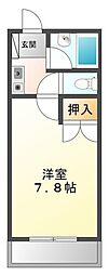 リッチライフ甲子園VIII[3階]の間取り