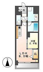 ポルタニグラ大須[7階]の間取り