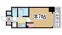 エステムコート神戸西[605号室]の間取り