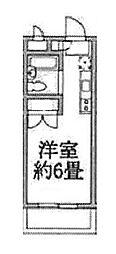 ラジオン連光寺[106号室]の間取り