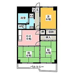降旗ビル[7階]の間取り