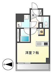 スクエア・アパートメント[4階]の間取り