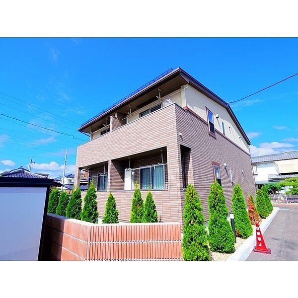 長野県上田市諏訪形の賃貸アパート