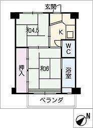 稲荷口駅 2.6万円