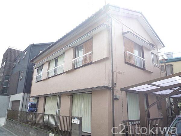 埼玉県志木市本町6丁目の賃貸アパートの外観