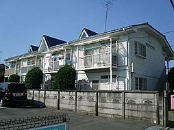 東京都東久留米市弥生1丁目の賃貸アパートの外観