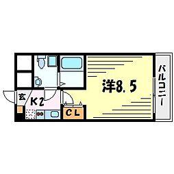 セレニテ甲子園1[4階]の間取り