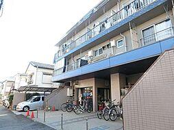 東京都中野区本町2丁目の賃貸マンションの外観