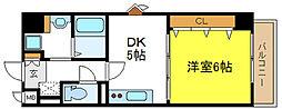 ドムス4[4階]の間取り