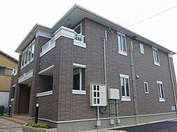 兵庫県姫路市飾磨区英賀東町2丁目の賃貸アパートの外観