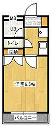 ヴィラ千倉[2階]の間取り