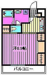 リブリ・絹[1階]の間取り