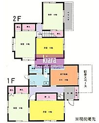 [一戸建] 神奈川県横浜市神奈川区片倉5丁目 の賃貸【/】の間取り