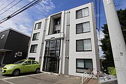北海道札幌市厚別区大谷地東4丁目の賃貸マンションの外観