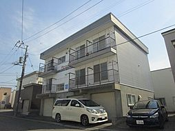 北海道札幌市東区北二十一条東22丁目の賃貸アパートの外観