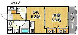 カーサ恵風[2階]の間取り