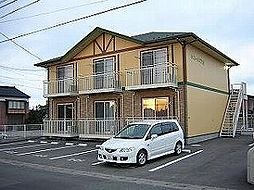 鳥取県米子市東福原1丁目の賃貸アパートの外観